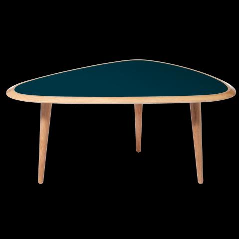 Table basse de red edition small bleu peacock - Red edition table basse ...