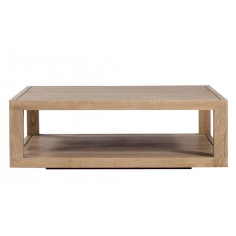 Table basse DUPLEX en chêne d'Ethnicraft, 110cm