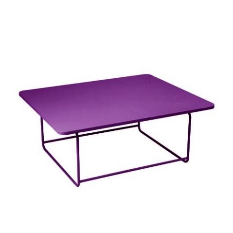 Table basse ELLIPSE de Fermob, Aubergine