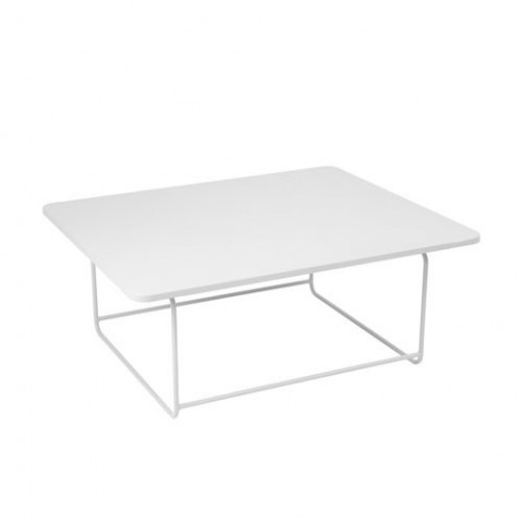 Table basse ELLIPSE de Fermob, Blanc