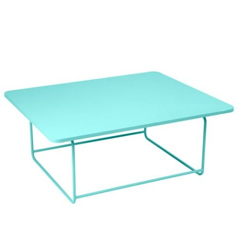 Table basse ELLIPSE de Fermob Bleu lagune