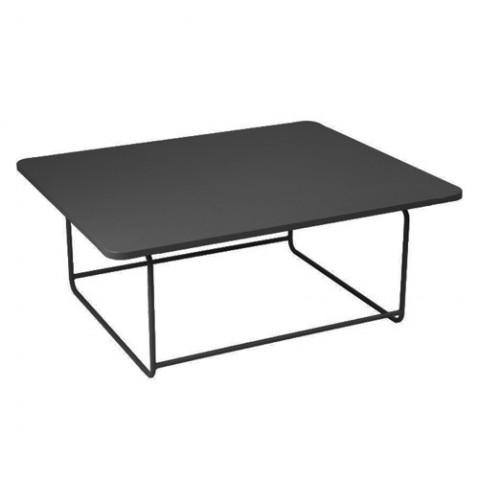 Table basse ELLIPSE de Fermob Carbone