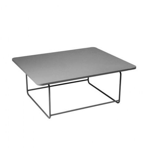 Table basse ELLIPSE de Fermob, Gris orage