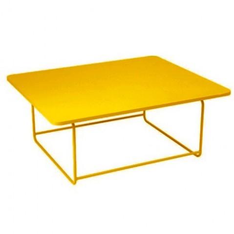 Table basse ELLIPSE de Fermob, Miel