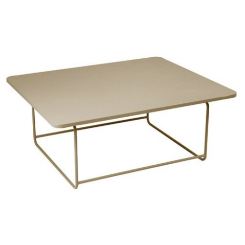 Table basse ELLIPSE de Fermob, Muscade