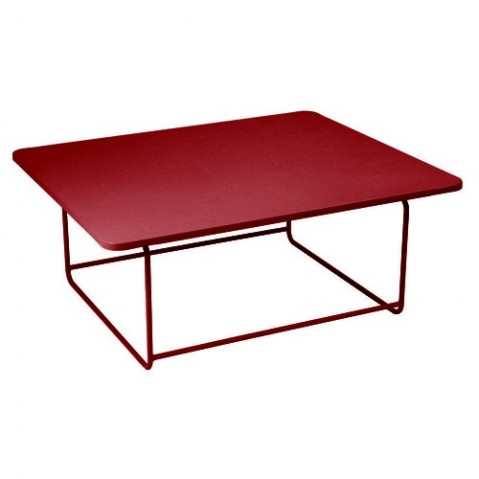 Table basse ELLIPSE de Fermob, Piment