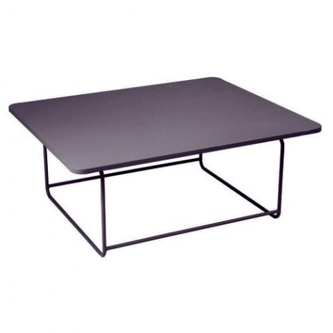 Table basse ELLIPSE de Fermob, Prune