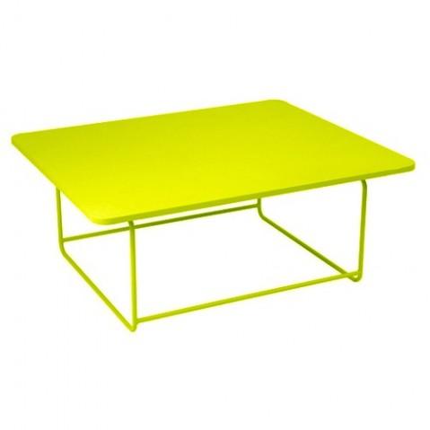 Table basse ELLIPSE de Fermob, Verveine