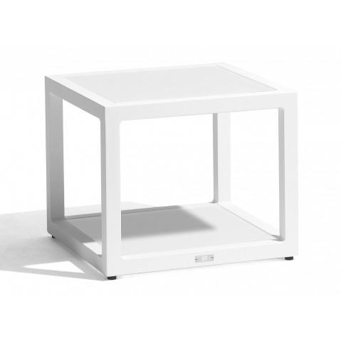 Table basse FUSE de Manutti blanc
