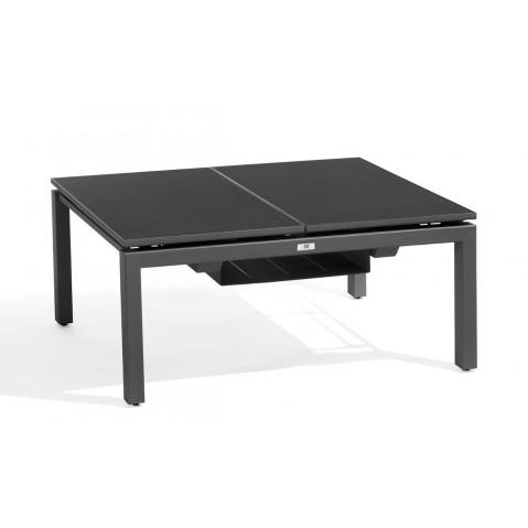 Table basse/haute TRENTO TIP-UP de Manutti 2 places