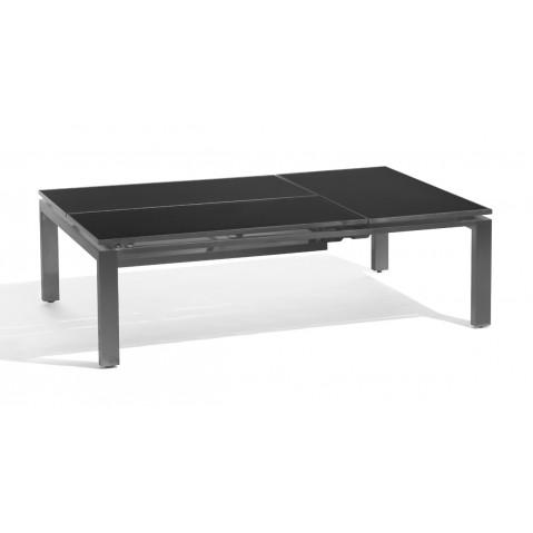 Table basse/haute TRENTO TIP-UP de Manutti 3 places