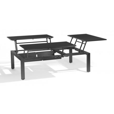 table basse haute trento tip up de manutti 3 tailles. Black Bedroom Furniture Sets. Home Design Ideas