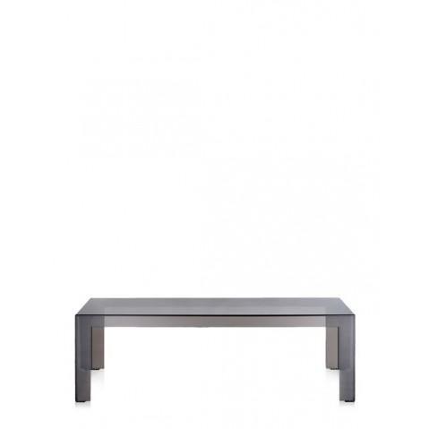 Table basse INVISIBLE de Kartell, 2 tailles, 2 coloris