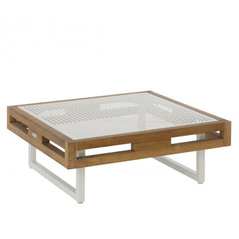 Table basse KONTIKI en tôle de Emu