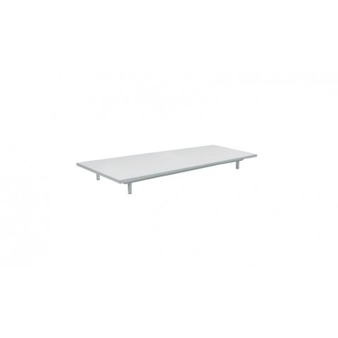 Table basse LAZY de Royal Botania, Blanc, 80x160x15