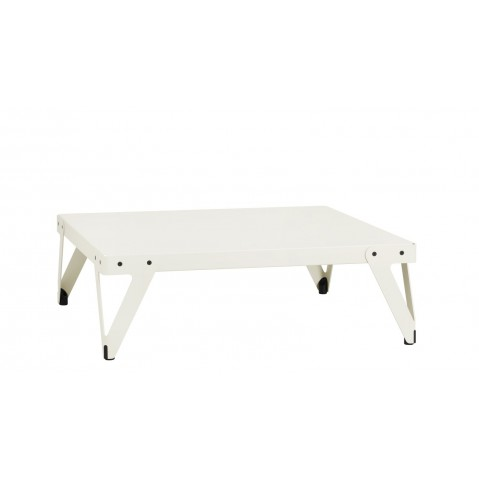Table basse LLOYD de Functionals, Blanc