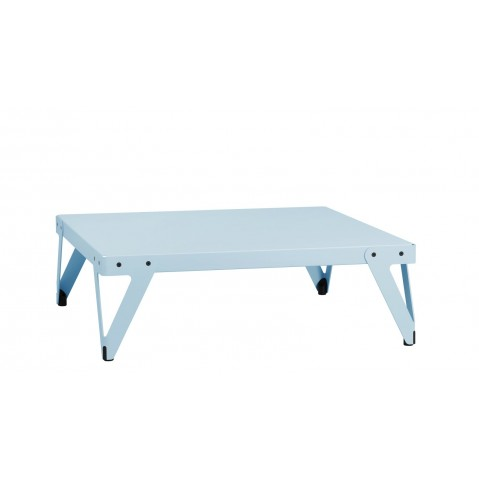 Table basse LLOYD de Functionals, Bleu clair