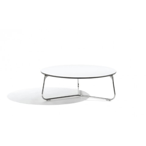 Table basse MOOD de Manutti, Blanc, D. 100