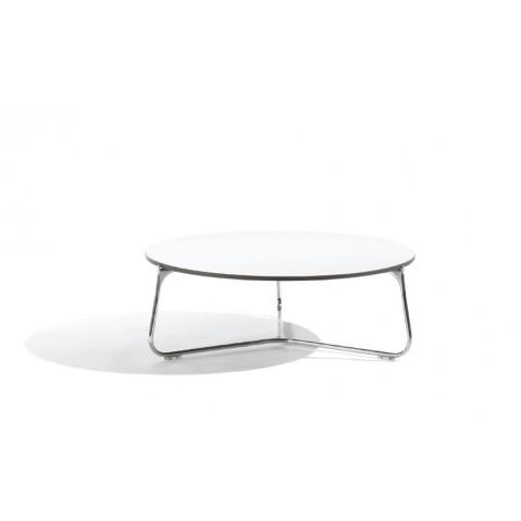 Table basse MOOD de Manutti, Blanc, D. 80