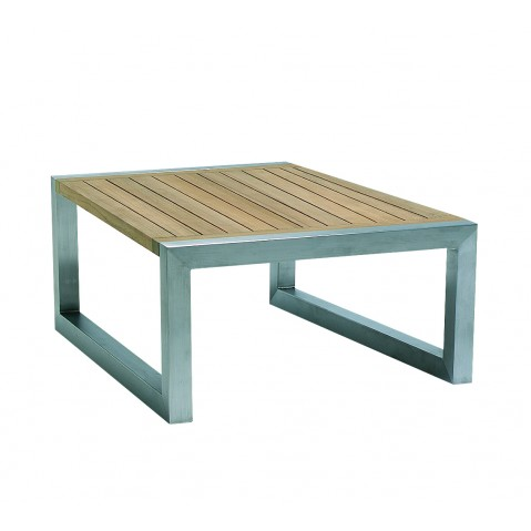 Table basse NINIX 50 de Royal Botania Teck EP
