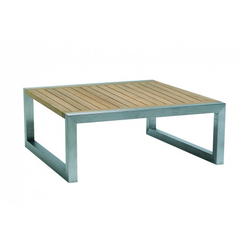 Table basse NINIX de Royal Botania, 90x90, teck