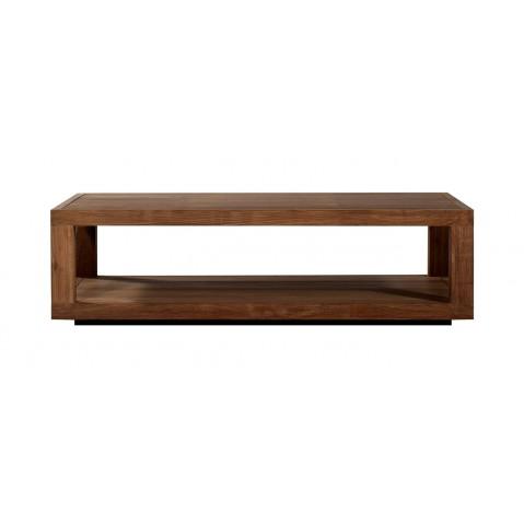 Table basse rectangulaire DUPLEX en teck d'Ethnicraft