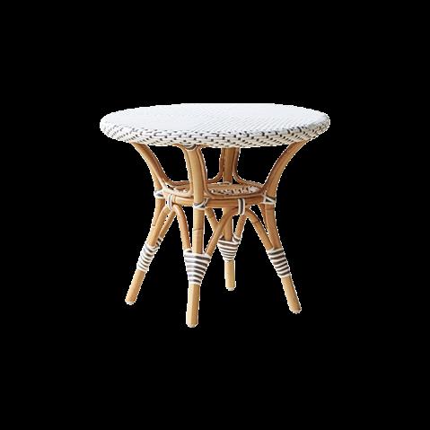 Table basse ronde extérieure DANIELLE de Sika Design, blanc