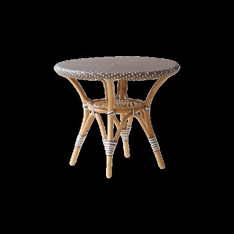 Table basse ronde extérieure DANIELLE de Sika Design, cappuccino