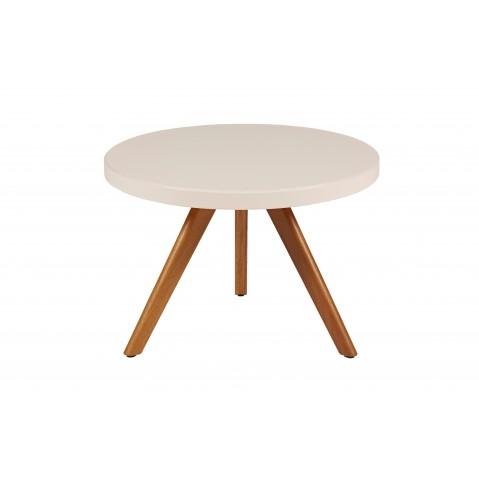 Table basse ronde K17 inox de Tolix, 2 tailles, 4 coloris