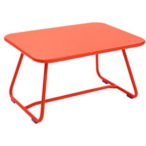 Table basse SIXTIES de Fermob, Capucine