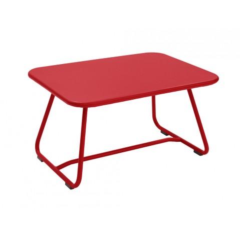 Table basse SIXTIES de Fermob coquelicot