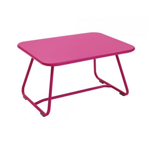 Table basse SIXTIES de Fermob fuchsia