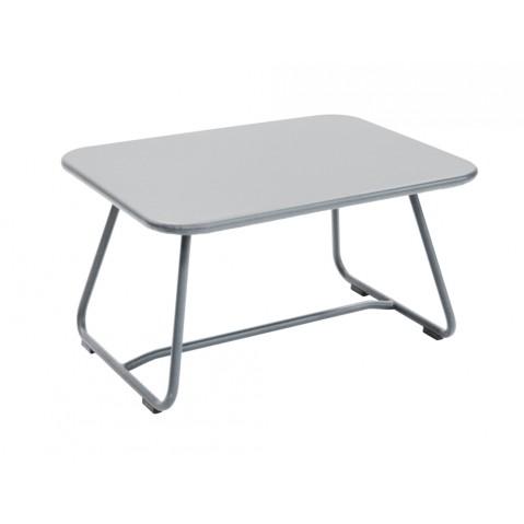 Table basse SIXTIES de Fermob gris métal