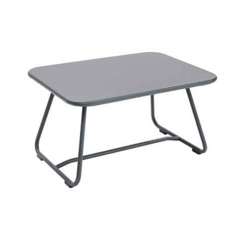 Table basse SIXTIES de Fermob gris orage