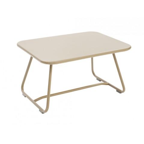 Table basse SIXTIES de Fermob lin