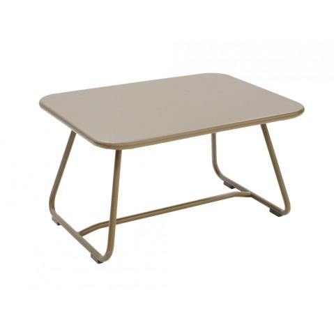 Table basse SIXTIES de Fermob muscade