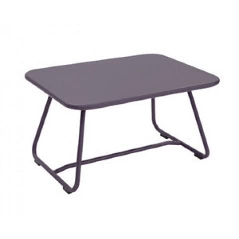 Table basse SIXTIES de Fermob, Prune