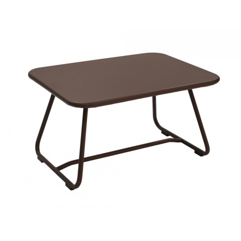 Table basse SIXTIES de Fermob rouille