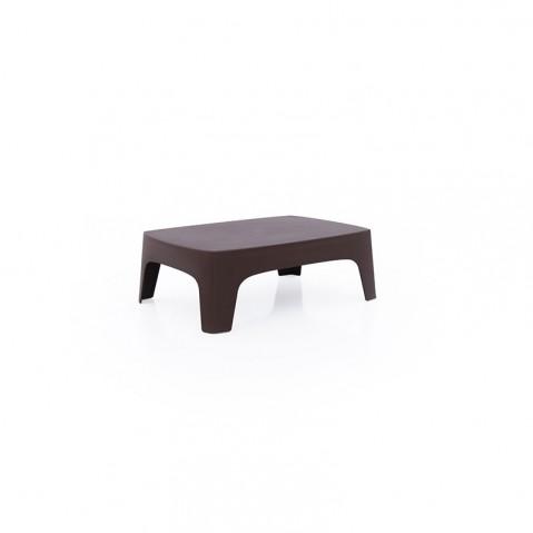 Table basse SOLID de Vondom, Bronze