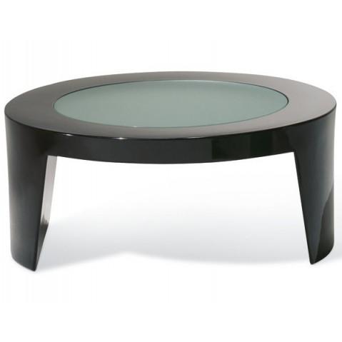 Table basse TAO de Slide noir laqué