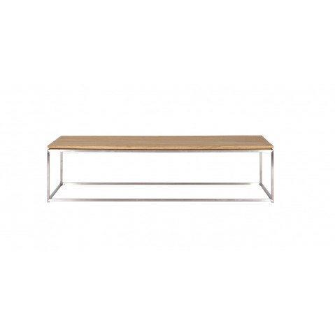 Ethnicraft table basse rectangulaire thin en ch ne for Table basse ethnicraft