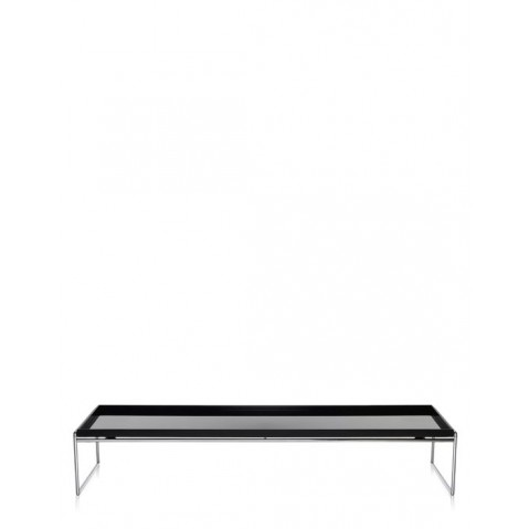 Table basse TRAYS de Kartell, 3 tailles, 2 coloris