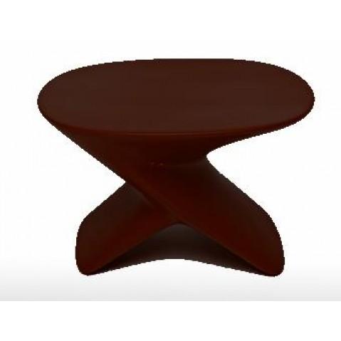 Table basse UBLO Qui est Paul Chocolat Coussin Gris