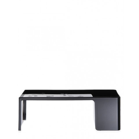 Table basse USAME de Kartell, Noir