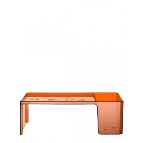 Table basse USAME de Kartell, Orange