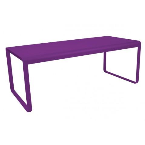 Table BELLEVIE de Fermob aubergine
