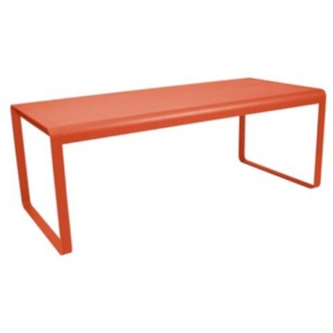 Table BELLEVIE de Fermob, Capucine