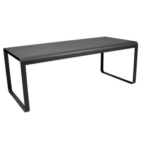 Table BELLEVIE de Fermob Carbone