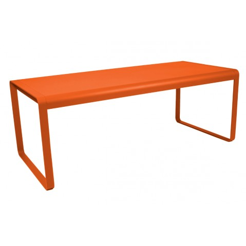 Table BELLEVIE de Fermob carotte