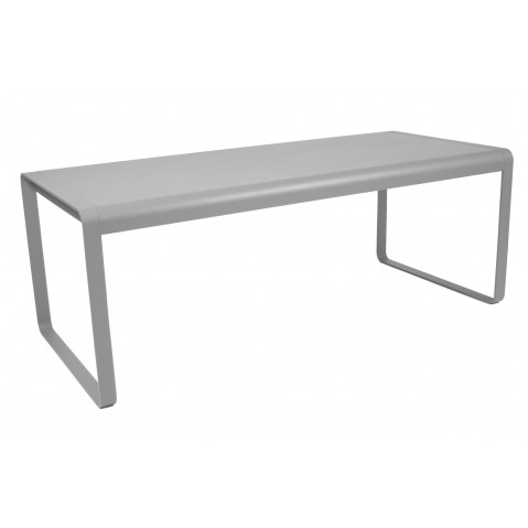 Table BELLEVIE de Fermob gris métal